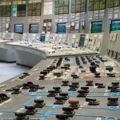 Control room of nuclear power generation plant