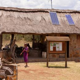 Solar panels in Kenya