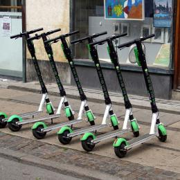 e-scooters for urban transport