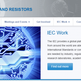 IEC TC 40 website homepage