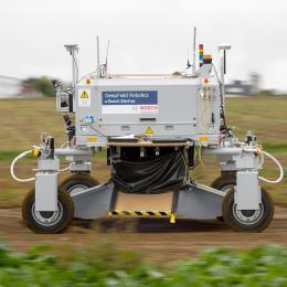 Bosch Deepfield Robotics Bonirob agricultural robot