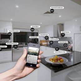 Kitchens increasingly have more smart devices