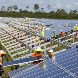 Solar PV ranch