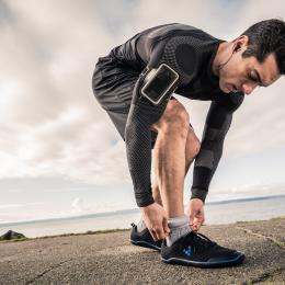 runner in sensoria smart clothing