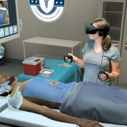 VR used to train surgeons