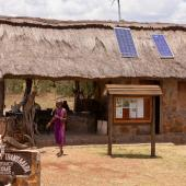 Solar panels in Kenya