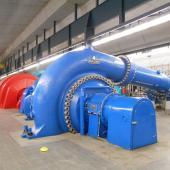Turbine room Veytaux